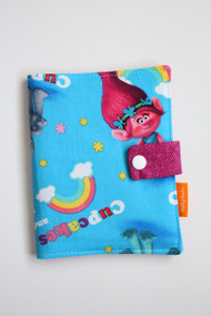 Trolls crayon wallet closed view