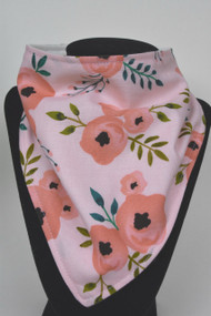 Pink on Pink Floral with bamboo back