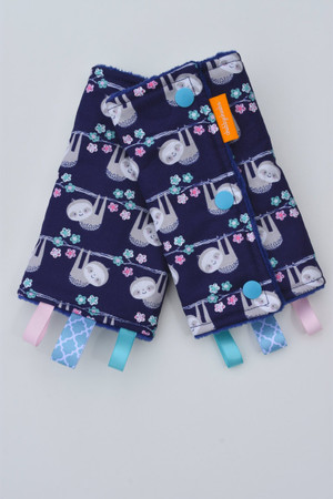 Sloths baby carrier drool pads