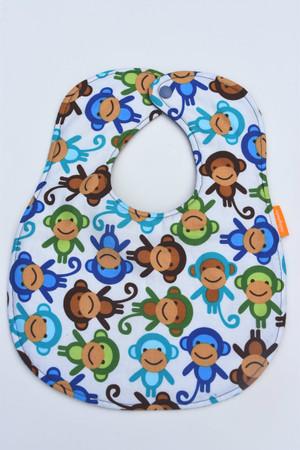 Blue Monkey Classic Bib
