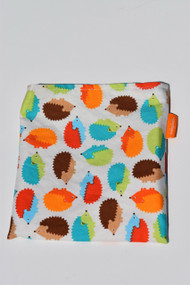 Colourful Hedgehogs snack bag