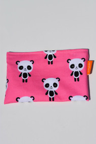 Pink Panda small snack bag