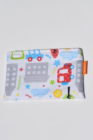 Trucks and Buildings small snack bag