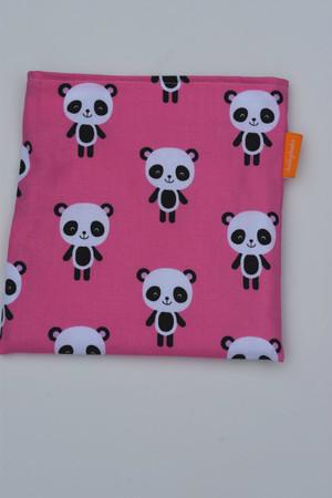 Pink Panda snack bag