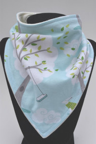 Backyard boys bandana bib with bamboo back