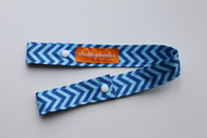Toy Strap - Blue Chevron