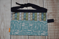 Measuring tools patterned tool belt