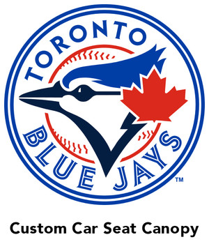 Toronto Blue Jays car seat canopy
