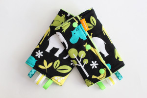 Zoo Lagoon baby carrier drool pads