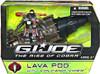 GI Joe The Rise of Cobra Lava Pod Action Figure Vehicle