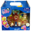 Littlest Pet Shop Petriplets Hamster Figure 3-Pack