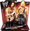 WWE Wrestling Series 7 CM Punk & Luke Gallows Action Figure 2-Pack