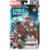 Marvel Universe Marvel's Greatest Battles Comic Packs Deadpool & Taskmaster Action Figure 2-Pack