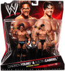 WWE Wrestling Series 10 Darren Young & Justin Gabriel Action Figure 2-Pack