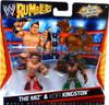 WWE Wrestling Rumblers Series 1 The Miz & Kofi Kingston Mini Figure 2-Pack