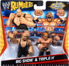 WWE Wrestling Rumblers Series 1 Big Show & Triple H Mini Figure 2-Pack