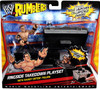 WWE Wrestling Rumblers Series 1 Ringside Takedown Mini Figure Playset [With Randy Orton]