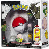 Pokemon Black & White Series 1 Catcher Pikachu, Snivy & Munna Figure 3-Pack