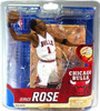 McFarlane Toys NBA Chicago Bulls Sports Picks Series 20 Derrick Rose Action Figure [White Jersey]