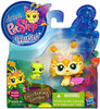 Littlest Pet Shop Fairies Glistening Garden Dandylion Fairy & Inchworm Figure 2-Pack #2608, 2609