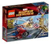 LEGO Marvel Super Heroes Avengers Captain America's Avenging Cycle Set #6865