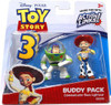 Toy Story 3 Action Links Buddy Pack Communicator Buzz Lightyear & Jessie Mini Figure 2-Pack