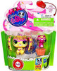 Littlest Pet Shop Lop Eared Bunny & Kitty Friend Figure 2-Pack #3039, 3040