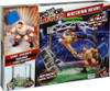 WWE Wrestling Power Slammers Wrecking Brawl Mini Figure Playset