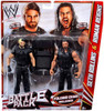 WWE Wrestling Series 24 Seth Rollins & Roman Reigns Action Figure 2-Pack [Folding Chair]