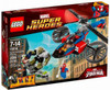 LEGO Marvel Super Heroes Ultimate Spider-Man Spider Helicopter Rescue Set #76016
