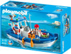 Playmobil Harbor Fisherman with Boat Set #5131