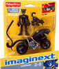 Fisher Price DC Super Friends Batman Imaginext Catwoman Figure Set