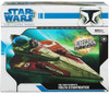 Star Wars The Clone Wars Vehicles 2008 Obi-Wan Kenobi's Delta Starfighter Action Figure Vehicle [Version 2]