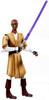 Star Wars The Clone Wars Clone Wars 2009 Mace Windu Action Figure CW06