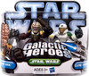 Star Wars The Clone Wars Galactic Heroes 2010 Sergeant Bric & Clone Trooper Echo Mini Figure 2-Pack
