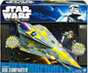 Star Wars The Clone Wars Vehicles 2011 Anakin Jedi Starfighter Action Figure Vehicle