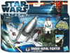 Star Wars The Phantom Menace Vehicles & Action Figure Sets 2012 Naboo Royal Fighter with Obi-Wan Kenobi Action Figure Set
