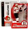 McFarlane Toys NHL Ottawa Senators Sports Picks Series 9 Daniel Alfredsson Action Figure [White Jersey Variant]