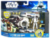 Star Wars The Clone Wars Vehicles & Action Figure Sets 2011 Y-Wing Scout Bomber with Clone Trooper Pilot Action Figure Set