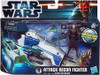 Star Wars The Clone Wars Vehicles & Action Figure Sets 2012 Attack Recon Fighter with Anakin Skywalker Action Figure Set