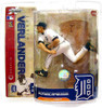 McFarlane Toys MLB Detroit Tigers Sports Picks Series 18 Justin Verlander Action Figure [White Jersey]