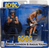 NECA AC / DC Brian Johnson & Angus Young Action Figure 2-Pack