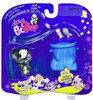 Littlest Pet Shop Portable Pets Skunk Figure #641 [Furry Tail & Garbage Pail]