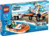 LEGO City Coast Guard Truck with Speed Boat Set #7726