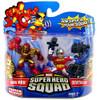 Marvel Super Hero Squad Series 14 Deathlok & Iron Man 2020 Action Figure 2-Pack