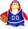 Club Penguin Series 3 Basketball Player 6.5-Inch Plush Figure [Blue Uniform]