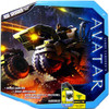 James Cameron's Avatar Combat Vehicle RDA Grinder Action Figure Set