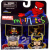 Marvel Universe Minimates Series 33 Thor Reborn & Lady Loki Minifigure 2-Pack