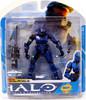 McFarlane Toys Halo 3 Series 7 Spartan Soldier Rogue Action Figure [Blue]
