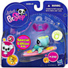 Littlest Pet Shop 2010 Assortment B Series 2 Sea Turtle Figure #1325 [Surfboard]